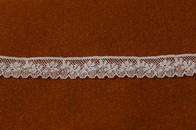 画像2: フランス製リバーレース ホワイト  幅1.5cm小花柄 5m巻