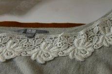画像3: 約60枚!幅5.5cm美しい薔薇の綿ケミカルレース オフホワイト (3)