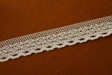 画像3: トーションレース オフホワイト 幅4cm 綺麗な綿製 10m! (3)