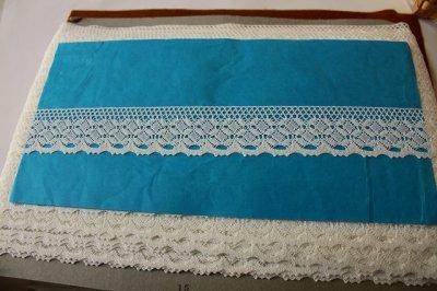 画像3: トーションレース オフホワイト 幅4cm 綺麗な綿製 10m!