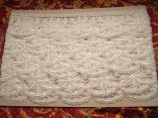 画像3: 3m!幅5.5cm花柄綿ケミカルレース オフホワイト (3)