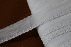 画像2: 150円!3m!幅2,5cm可愛いドット柄綿レース オフホワイト (2)