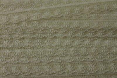 画像2: 5m!幅1.5cm小花柄ラッセルレース オフホワイト