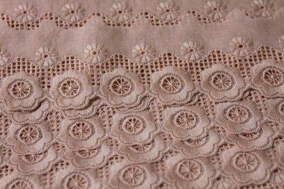 画像3: 6.3m!幅5.cm可愛い花柄綿レース ピンク