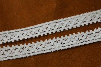画像2: 5m!幅2cm綺麗な綿リバーレース ホワイト