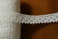 画像2: 5m!幅2cm綺麗な綿リバーレース ホワイト (2)