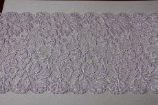 画像3: 5m!幅14.9.cm高級落下板ラッセルストレッチレース パープル (3)