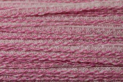 画像3: 5m!幅1.1cm可愛いピンク刺繍のラッセルレース 淡いピンク