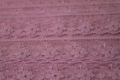 画像3: 5m!幅1.8cm小花柄ラッセルレース 可愛いピンク