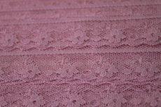 画像6: 5m!幅1.8cm小花柄ラッセルレース 可愛いピンク (6)