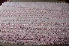 画像6: 3m!幅2cm!可愛いスカラの綿レース ホワイト/ピンク (6)