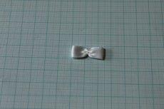画像3: 10個セット!幅2.4cmリボンモチーフ ホワイト ハンドメイドに (3)