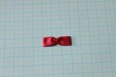 画像2: 10個セット!幅3cmリボンモチーフ 赤 ハンドメイドに (2)