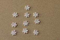 画像4: 20個セット!幅1.1cm小花のケミカルモチーフ ピンク アクセサリーレース (4)