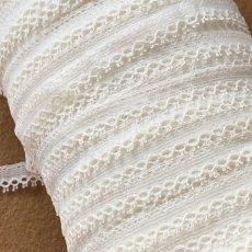 画像6: 幅1.1cmピコが美しいフランス製リバーレース オフホワイト (6)