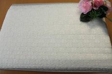画像7: 20%off!51m!幅3.2cm可愛い花柄ラッセルレース オフホワイト (7)