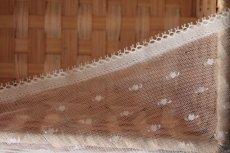 画像9: 幅1.1cmピコが美しいフランス製リバーレース オフホワイト (9)
