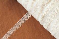 画像8: 幅1.1cmピコが美しいフランス製リバーレース オフホワイト (8)