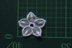 画像4: 10枚組!幅2.8cm透け感が可愛い花柄モチーフ パープル (4)
