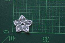 画像3: 10枚組!幅2.8cm透け感が可愛い花柄モチーフ パープル (3)