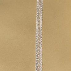 画像4: チュールレース オフホワイト 1m巻!幅1.2cm両山ドット柄 ドールドレスに (4)