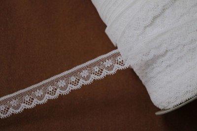 画像3: 1m!幅1.6cm小花柄フランス製リバーレース ホワイト