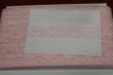 画像5: 高品質な日本製127m!幅4.2m花柄ラッセルストレッチレース ピンク (5)