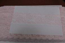 画像6: 5m!幅6cm美しい薔薇柄ラッセルストレッチレース ピンク高品質な日本製 (6)