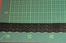 画像3: 5m!幅2.1cm可愛いラッセルストレッチレース 黒 日本製 (3)