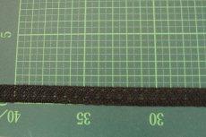 画像2: 10m!幅1.2cm美しいラッセルストレッチレース ブラック マスクゴム (2)