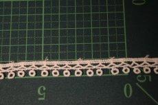 画像2: 綿ケミカルレース オフホワイト幅1cm エスニック風 3m巻 (2)