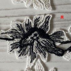 画像5: ケミカルレース 薔薇モチーフ 3色 日本製 90cm (5)