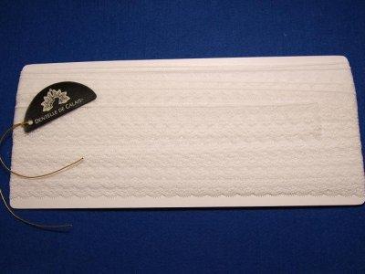 画像2: 3m!幅2.4cm美しいフランス製リバーレース オフホワイト