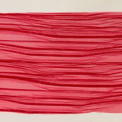画像1: 幅110cm×100cm日本製プリーツ生地 赤 (1)