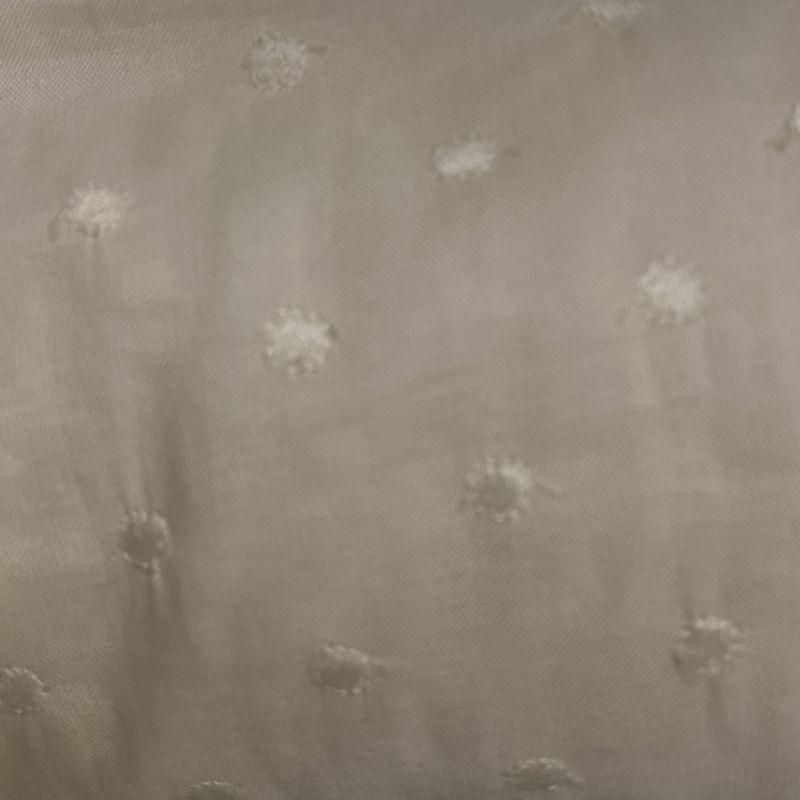 画像1: 幅90cm×100cm!広幅綿レース オフホワイト スカラが可愛い (1)